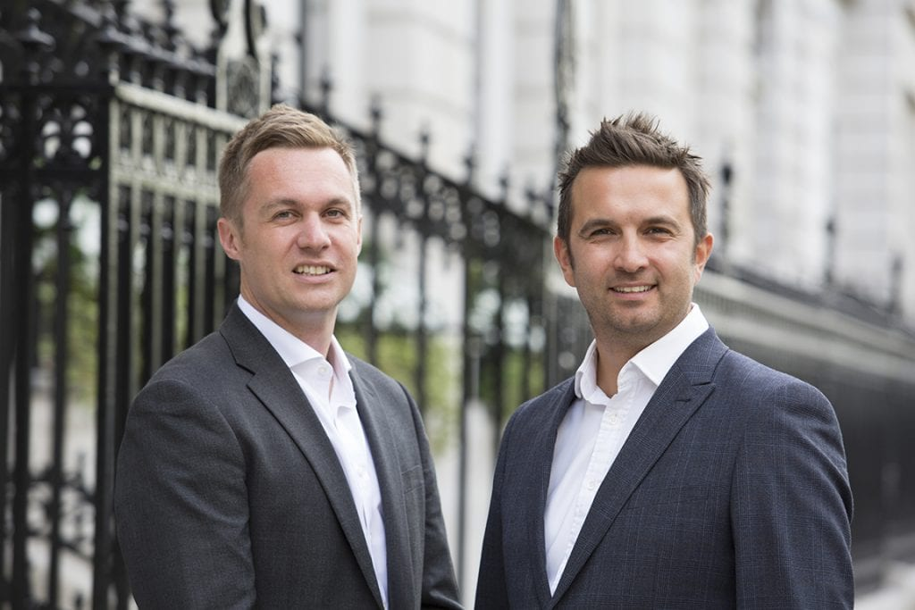 Cloud Gateway co-founders Justin Day and Neil Briscoe Cybersecurity