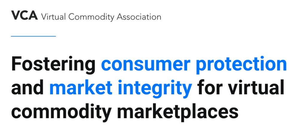 Virtual Commodity Association VCA