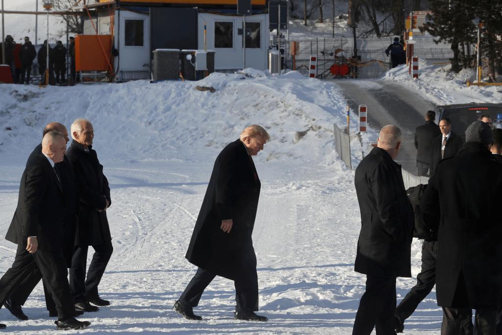 Ignatius Bowskill Dutkiewicz Davos Switzerland Trump Donald